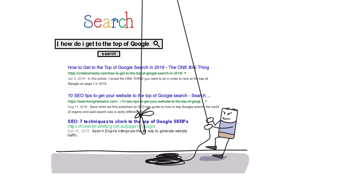 How do I get to the top of Google?